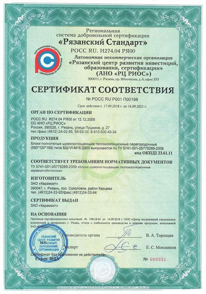 керамзитобетон нормативный документ